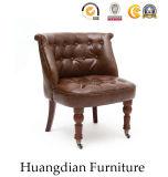Butaca copetuda de la silla del diseño del restaurante de los muebles de los muebles de lujo del Pub (HD462)