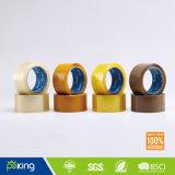 48 Mic de Bruine Verzegelende Band van het Karton van de Kleur BOPP Zelfklevende voor het Gebruik van de Verpakking