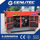 Diesel van de Motor 20kVA van Yangdong (YSD490D) de Stille Reeks van de Generator