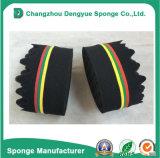 A escova lateral dobro oval da esponja para teme travar a ferramenta da onda da onda do Afro da bobina