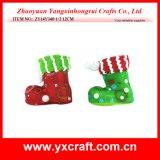クリスマスの装飾(ZY14Y223-1-2-3)のクリスマスのフェルトの装飾Xmasの一突き