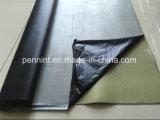 100%のゴム製同種の、羊毛の裏付け及び自己接着EPDMはSingle-Ply屋根ふきシステムのための膜を防水する