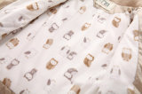Одежды младенца косой застежки -молнии ленты милые на зима