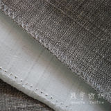 SofaのためのポリエステルLinen Woven Decorative Fabric