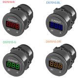 Digitalmessinstrument-Amperemeter-Kontaktbuchse Gleichstrom-12V-24V LED Für Boots-Fahrzeug-Motorrad