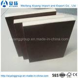 La talla de encargo Brown/negro/película roja hizo frente a la madera contrachapada para la construcción