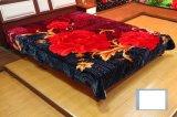 China Factory Newly Arrival Polyester 100% Raschel Cheap Blanket für Mittleren Osten Market