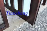 Дверь оси самомоднейшей конструкции дома алюминиевая