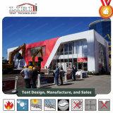 Barraca da ponte dobro com a parede de vidro para eventos e a feira profissional ao ar livre