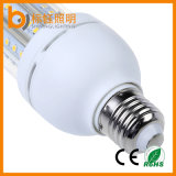 Luz de bulbo desobstruída do milho do diodo emissor de luz da lâmpada E27 SMD2835 9W do diodo emissor de luz do grau IP33 da tampa 360