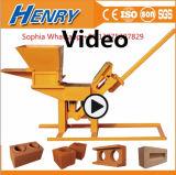 Machine de fabrication de brique d'argile de la saleté Hr1-30 machine de fabrication de brique de verrouillage manuelle dans le prix