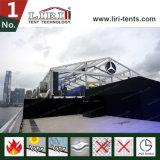 Barraca desobstruída extravagante do casamento do telhado em Hong Kong