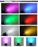36PCS 3W RGB 옥외 IP65 단계 사건 LED 세척 동위는 점화할 수 있다