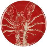 Les plaques de dîner de vie de mer de mélamine ont placé la vaisselle