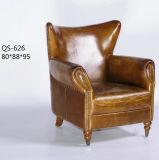 Bester lederner Sofa-Stuhl für Hotel und Haus (626)
