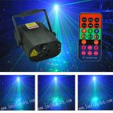 Mini laser della luce laser 350MW Rgbg 8gobos di natale ed indicatore luminoso blu di 3W LED con telecomando