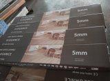 Mattonelle di pavimento del vinile del sistema di collegamento di scatto del PVC di Lvt 4/5mm