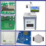 Машина маркировки лазера системы 20W охлаждения на воздухе UV для Кодего Qr