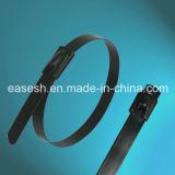 Attaches de câble en acier inoxydable revêtues avec UL (norme européenne)