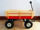 Chariot en bois de service tout-terrain de chariot d'outil de jardin