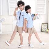 2016 vêtements de jardin d'enfants d'été avec les uniformes scolaires primaires de type britannique neuf