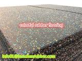 EPDM الملونة المعاد تدويرها المطاط الأرضيات، بلاط رياضة / رياضة مكان المطاط
