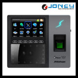 4.3インチのタッチ画面の顔の指紋の生物測定の時間出席装置