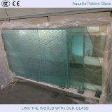 Vidrio templado del invernadero de 4m m con el vidrio bajo del patrón del hierro