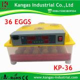 Mini incubateur automatique d'oeuf d'incubateurs/de caille des oeufs Kp-36
