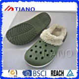 Люди и женщины ботинок толщиной зимы теплые греют Clogs (TNK40044)