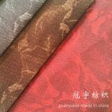 Tissu à la maison flexible superbe de velours de textile avec le support de T/C