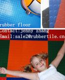 Feuerbeständiger Gummibodenbelag-Gymnastik-Gummibodenbelag-Krankenhaus-Gummibodenbelag-Flughafen-Gummibodenbelag