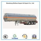 Acoplado del carro del transporte de petrolero del surtidor 42cbm de China con alta calidad