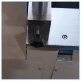 O perfil de alumínio do PVC V-Cortou a serra