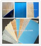 Binnen Gebruik en de Eenvoudige Bevloering van pvc van de Kleur Commerciële