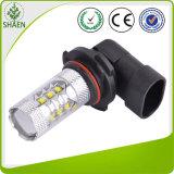 CREE 9005 da luz de névoa 80W da luz do carro do diodo emissor de luz