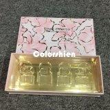 Rectángulo de regalo cosmético rosado asombroso de la visualización del embalaje del perfume