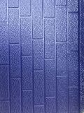 El panel de pared decorativo de la espuma de la PU del metal que graba