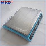 Balanza inoxidable de la placa de acero de la visualización del LCD