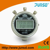 Cronômetro profissional do metal de Digitas (JS-6619)