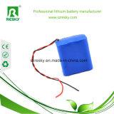 충전기를 가진 의학 모니터를 위한 18650 8.4V 리튬 건전지 팩