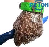 Gant de boucher de courrier en métal Glove/Chain de /Anti-Cut de gant de maille d'acier inoxydable