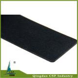 suelo de goma del negro del espesor de 8m m para la aptitud de la gimnasia
