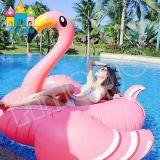 Wasser-aufblasbare Produkte, die Ring-sich hin- und herbewegenden Flamingo-Pool-Gleitbetrieb schwimmen