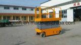 Heißer Verkaufs-selbstangetriebene hydraulische und elektrische gefahrene Luftarbeit-Plattform