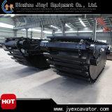 Amphibious Excavator Jyp-246를 위한 유압 Undercarriage Pontoon