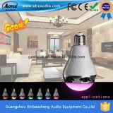 Altofalante portátil Bluetooth da lâmpada esperta colorida quente do diodo emissor de luz do produto novo com controle do APP