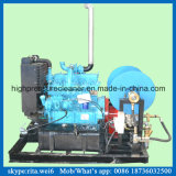 Arenador de alta presión del jet de agua de limpieza de la alcantarilla del motor de gasolina del fabricante de China
