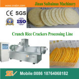 Les morsures Crunchies de biscuit de riz amincit la chaîne de fabrication de morceaux