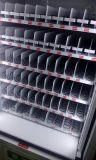 Máquina expendedora del elevador con la banda transportadora para las botellas de cristal frágiles 9g